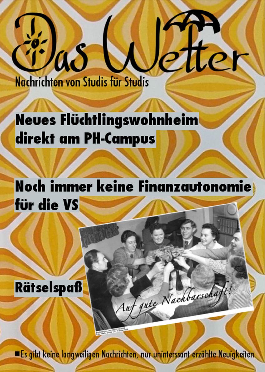 Ausgabe 3 - Das Wetter WS 2014