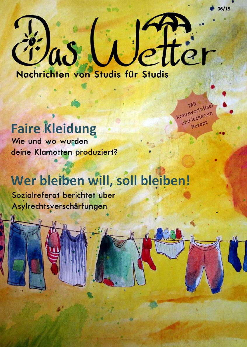 Ausgabe 4 - Das Wetter Juni 2015