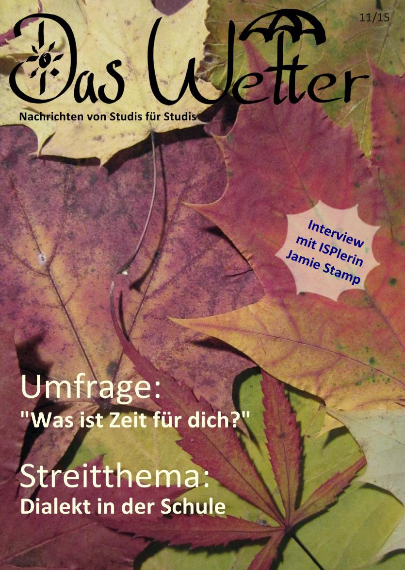 Ausgabe 6 - Das Wetter November 2015