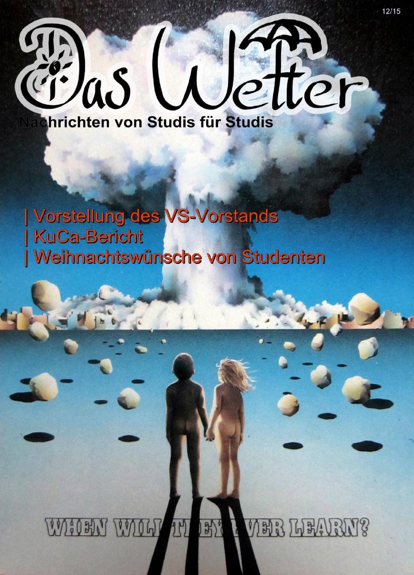 Ausgabe 7 - Das Wetter Dezember 2015